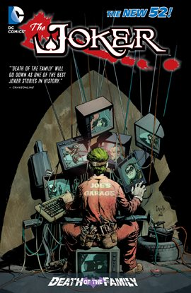 Cover image for The Joker: Death of the Family
