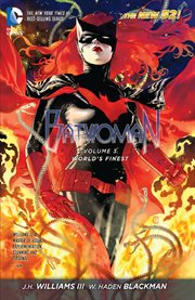 Batwoman. Volume 3, issue 12-17, World's finest cover image
