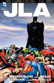 JLA. Volume 4, issue 36-41, Strength in numbers cover image
