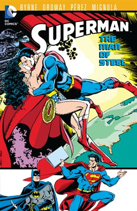 Cover image for Superman: The Man of Steel Vol. 8