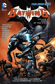 Batwing. Volume 3, issue 13-18, Enemy of the State cover image