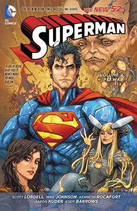Cover image for Superman Vol. 4: Psi-War