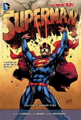 Cover image for Superman Vol. 5: Under Fire