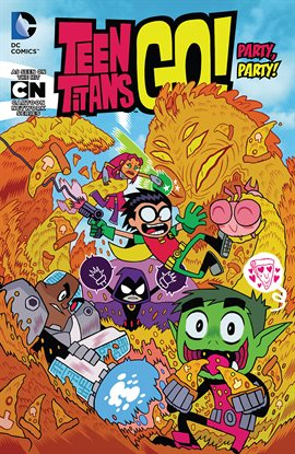 Teen Titans GO!, book cover