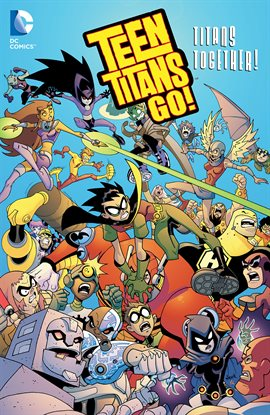 Cover image for Teen Titans Go!: Titans Together