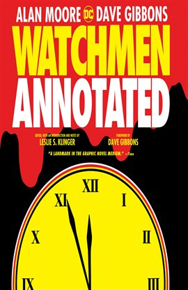 Watchmen: The Annotated Edition cover