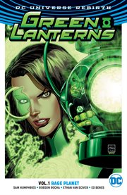 Green Lanterns. Volume 1, issue 1-5, Rage planet cover image