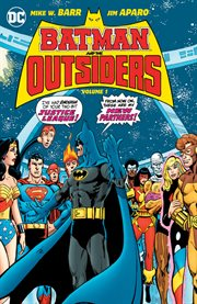 Batman and the Outsiders. Volume 1, issue 1-13 cover image