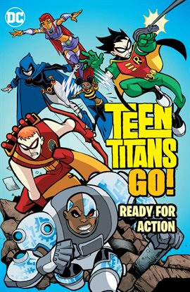 Cover image for Teen Titans Go!: Ready for Action