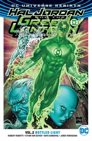 Hal Jordan and the Green Lantern Corps. Issue 8-13, Bottled light cover image
