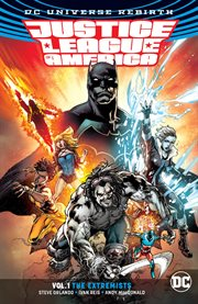 Justice League of America. Volume 1, issue 1-6, The extremists cover image