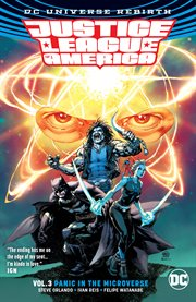 Justice League of America. Volume 3, issue 12-17, Panic in the microverse cover image