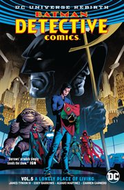 Batman: Detective Comics. Volume 5, issue 934-940, A lonely place of living cover image