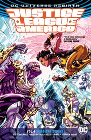 Justice League of America. Volume 4, issue 18-21, Surgical strike cover image