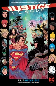 Justice League. Volume 7, issue 39-43, Justice lost cover image