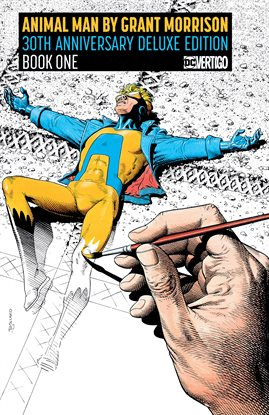 Cover image for Animal Man by Grant Morrison Book One 30th Anniversary Deluxe Edition