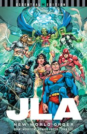 JLA : new world order. Issue 1-9 cover image