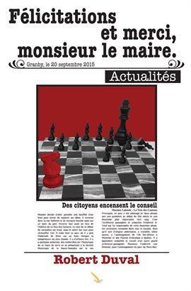 Cover image for Félicitations et merci, monsieur le maire