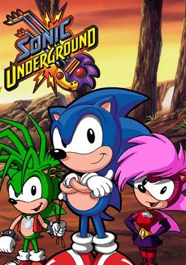 Sonic Underground Season 1 1999 Television Hoopla