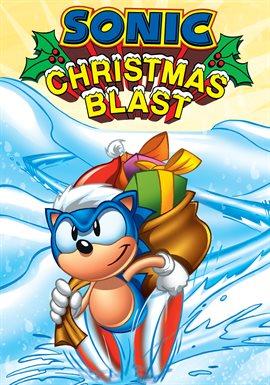 Sonic Christmas Blast, book cover