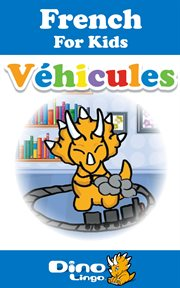 French for kids - vehicles storybook