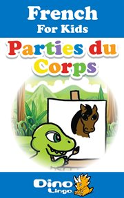 French for kids - body parts storybook