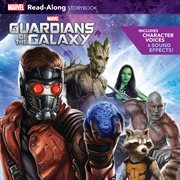 Guardians of the Galaxy read-along storybook and CD cover image