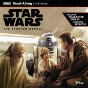 Star Wars the phantom menace read-along storybook and CD cover image