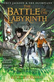 The battle of the Labyrinth : the graphic novel cover image