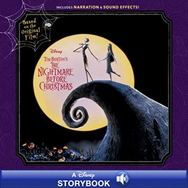 Tim Burton's The Nightmare Before Christmas Storybook, book cover