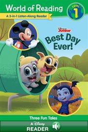 World of Reading: Disney Junior 3-in-1 Listen-along Reader