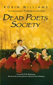 Dead poets society a novel cover image