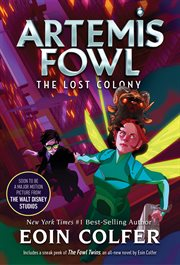Artemis Fowl : the lost colony cover image