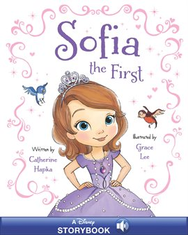 Cover image for Sofia the First Storybook with Audio