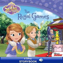 Cover image for Sofia the First:  The Royal Games
