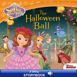 Cover image for Sofia the First:  The Halloween Ball