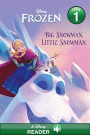 Big snowman, little snowman cover image