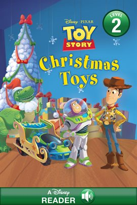 Toy Story: Christmas Toys , book cover
