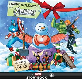 Cover image for Happy Holidays! From the Avengers