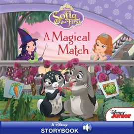 Cover image for Sofia the First: A Magical Match