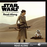 Star Wars the Force Awakens read-along storybook and CD cover image