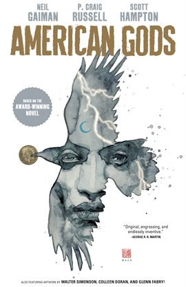American Gods, book cover