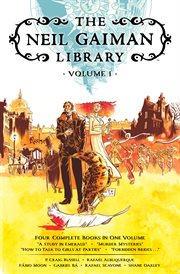 The Neil Gaiman library. Volume 1 cover image