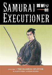 Samurai executioner. The bamboo splitter Volume 7, cover image