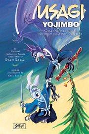 Usagi Yojimbo. Grasscutter II, journey to Atsuta Shrine bk. 15, cover image