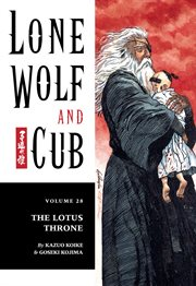 Lone wolf and cub. The lotus throne Volume 28, cover image