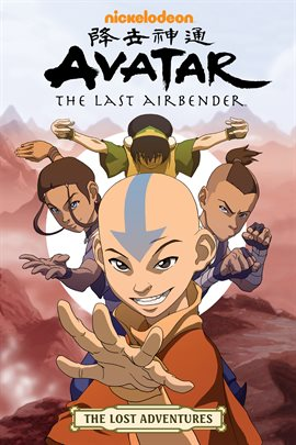 Cover image for Avatar: The Last Airbender: The Lost Adventures
