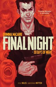 Criminal macabre final night : the 30 days of night crossover cover image