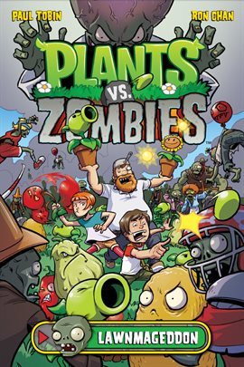 Cover image for Plants vs. Zombies: Lawnmageddon