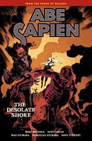 Abe Sapien. Volume 8, issue 32-36, The desolate shore cover image
